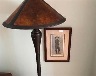 Perfect lamp for mission furniture