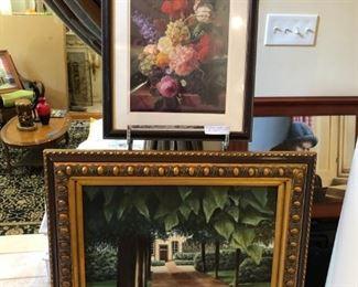 Wall art & original oil on canvas
