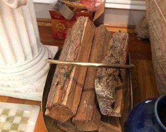 Fire wood & wood holder