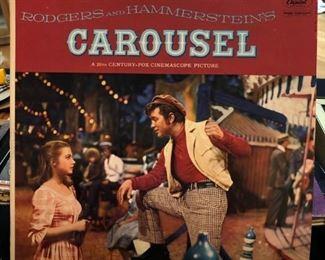 Vintage Broadway musical LP