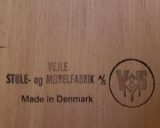 Table made in DENMARK