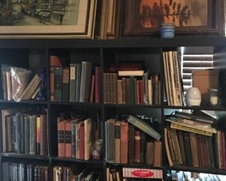 Antique collectible books