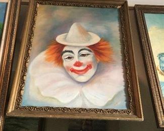 Original oil, renown artist Bernice
