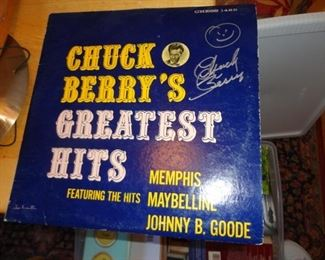 CHUCK BERRY'S GREATEST HITS AUTOGRAFT