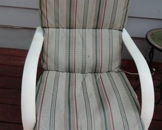 PATIO CHAIR WITH CUSHION
