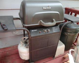 CHAR BROIL BBQ GAS