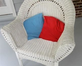 REAL WICKER CHAIR