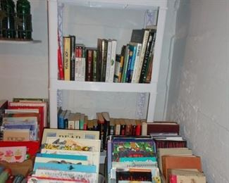 Old children's books and many other books