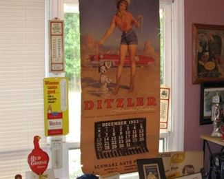 A collection of some of the advertising