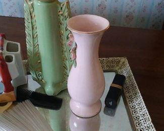 Perfume bottles, vanity sets