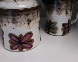 mid century pottery and ceramics