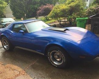 1977 Chevy Corvette California car