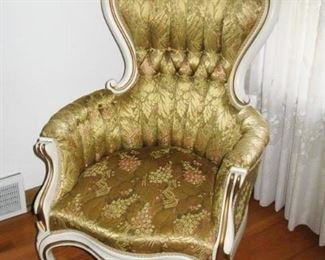 Pelham Shell & Leckie tall parlor chairs    there are 2   BUY IT NOW  $ 165.00 EACH OR THE PAIR FOR                     $ 280.00