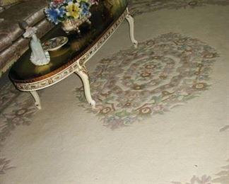 oriental carpet   10' x 14'  beautiful                                                    BUY IT NOW  $ 225.00