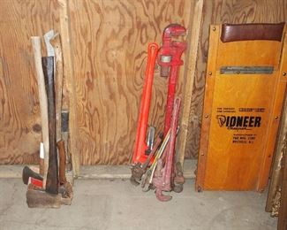 Axes, Wrenches