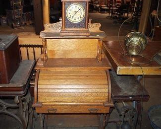 Desk, Clock