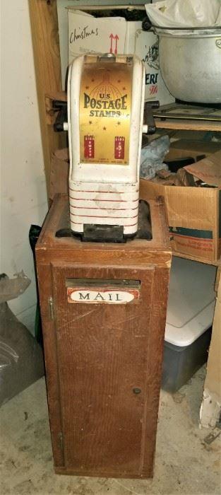 Vintage Postal machine