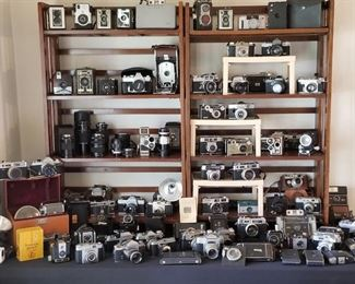 MASSIVE amounts of VINTAGE CAMERAS AND EQUIPMENT