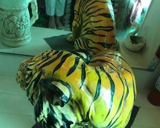 Vintage designer tiger