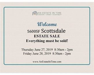 Estate Sale Photo Messagewelcome SALE SIGN