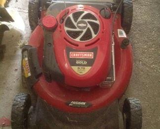 Craftsman 6.5 lawnmower.