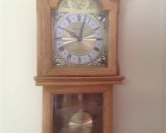 Regulator clock by Daniel Dakota...Quartz Westminster chimes.