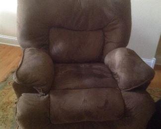 """Matching recliners....40"""" wide x 38"""" deep x 42"""" tall.  Presale $75 each"""
