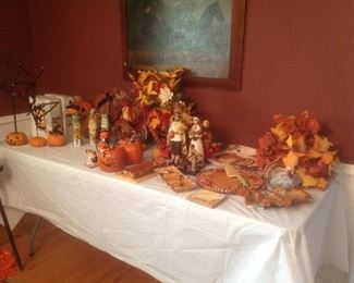 Lots of fall and halloween