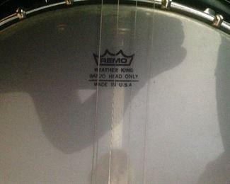 Name on banjo