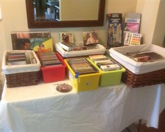 Cd's, WII games, albums