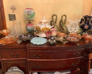 Buffet / credenza with loads of goodies!!