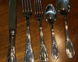 Bouillet-Bourdelle stainless flatware, made in France