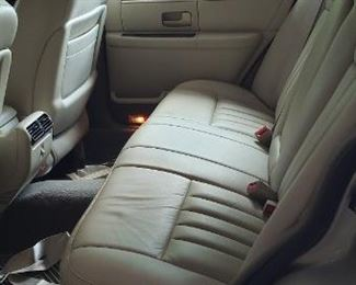 Lincoln - back seat