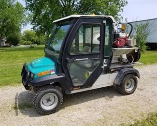 Ingersoll Rand Carryall 294 Toilet Buggy