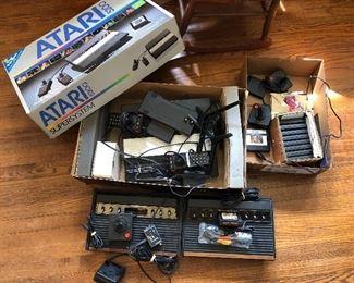 original box Atari 5200 + games and more