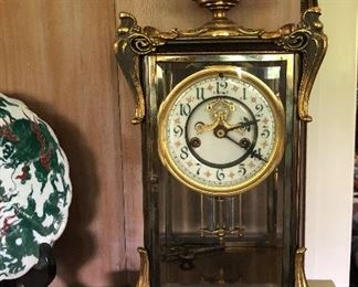 No mark on this Art Nouveau clock - Seth Thomas?