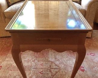 "Custom crafted table - Donna Najarian ""one of the premier figures in the American studio furniture movement, for her impeccable craftsmanship and unerring attention to detail"""