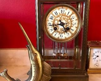 Shreve Crump and low Mantle Clock, Vintage