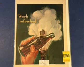1941 Coca-Cola ad; Train whistle