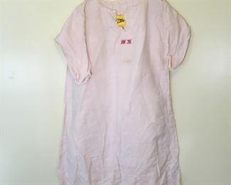 Vintage French Linen nightgown unknown size