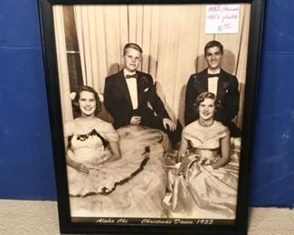 2986 resize1950s Alpha Chi Christmas Dance photo framed
