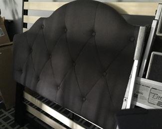 King size Headboard Dark Grey