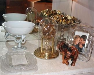 Decorative - Elephant, Anniversary Clock, Decorative Serving Pieces , Napkin Rings and Photo Frame