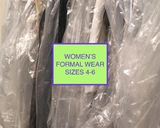 Lots of Women's Clothing, Formal Wear (sizes 6-4)
