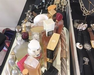 Costume Jewelry and Perfume Bottles