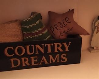 Primitive country box