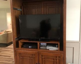 Mission Style Entertainment Center