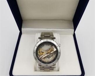 Shenhua Model # 9584 Skeleton Transparent Automatic watch, withbox