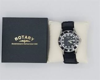 Rotary GS00022/04(13788), waterproof, with box, velcro band