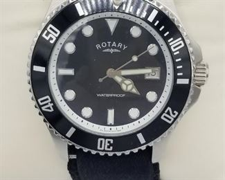 Rotary GS00022/04(13788), waterproof, with box, velcro band (closeup)